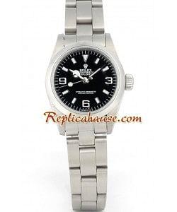 Rolex Réplica Explorer I - Silver - Dama -