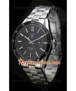 Tag Heuer Carrera Calibre 5 Reproducción Reloj Suizo con Esfera de color Negro