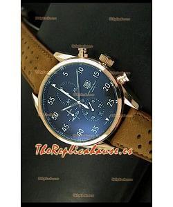 Tag Heuer Carrera 1887 SpaceEX Edition, Reloj de Cuarzo Japonés color Oro Rosado