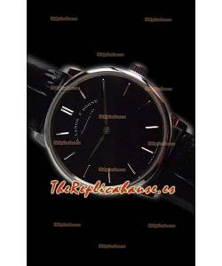 A.Lange Sohne Saxonia Thin Reloj Réplica en caja de Acero