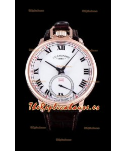 Chopard Louis-Ulysse The Tribute Reloj Suizo de Oro Rosado con Dial Blanco