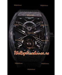 Franck Muller Vanguard Reloj Réplica Suizo Skeleton Tourbillon