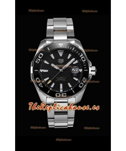 Tag Heuer Aquaracer Calibre 5 Reloj Réplica a Espejo 1:1 Dial Negro