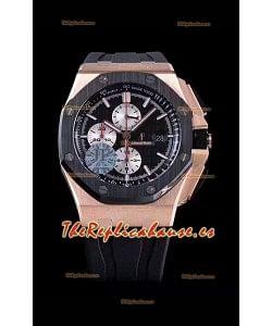 Audemars Piguet Royal Oak Offshore 44MM Oro Rosado Reloj de Acero 904L a Espejo 1:1