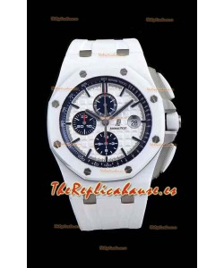 Audemars Piguet Royal Oak Offshore Cerámica blanca - Movimiento Ultimate 3126 1:1