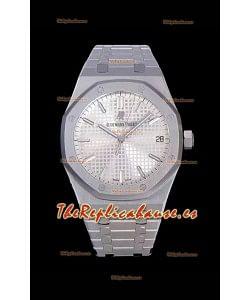 Audemars Piguet Royal Oak 41MM Dial de Acero 904L - Reloj Réplica a Espejo 1:1