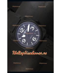 Bell & Ross BR03-92 Reloj Replica Suizo, Dial Negro