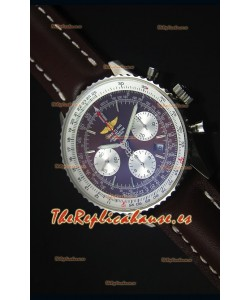 Breitling Navitimer 01 Dial Marrón Caja en Acero Reloj Replica Suizo a espejo 1:1