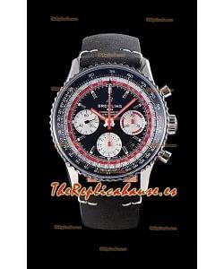 Breitling Navitimer 1 B01 Chronograph SWISSAIR Edition 43MM - 904L Reloj Réplica a Espejo 1:1