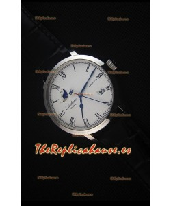 Glashuette Senator Excellence Panorama Date Moon Phase Reloj Replica Suizo