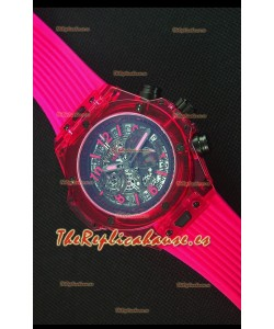 Hublot Big Bang Unico Red Sapphire Reloj Replica de Cuarzo 45MM