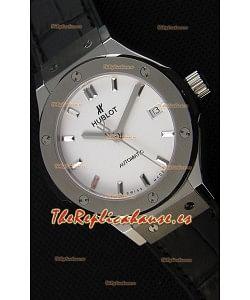 Hublot Big Bang Classic Fusion 38MM Reloj Réplica a Espejo 1:1 Dial Blanco