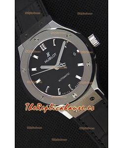 Hublot Big Bang Classic Fusion 38MM Reloj Réplica a Espejo 1:1 Dial Negro