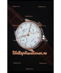 IWC IW500701 Portugieser Reloj Suizo Replica a escala 1:1 - Versión 2016 Actualizada