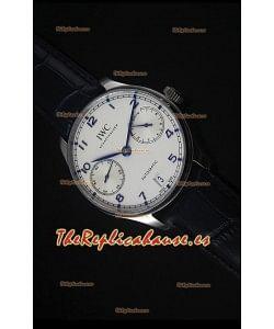 IWC IW500705 Portugieser Reloj Suizo Replica a escala 1:1 Dial Blanco - Versión 2016 Actualizada