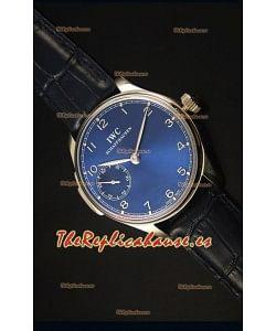 IWC Portuguese Handwind Ref# IW5242 Reloj Replica Suizo 1:1 Dial en Azul