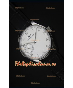 IWC Portuguese Handwind Ref# IW5242 Reloj Replica Suizo 1:1 Dial en Blanco