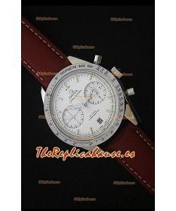 Omega Speedmaster 57 Co-Axial Reloj Cronógrafo con Correa de Piel