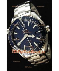 Omega Seamaster Planet Ocean 600M Dial Azul 43.5MM Reloj Réplica a Espejo 1:1 Suizo Actualizado