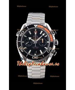 Omega Planet Ocean 600M Chronograph Acero 904L Reloj Réplica a Espejo 1:1