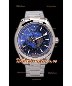 Omega Seamaster Aqua Terra 150M GMT Worldtime Reloj Réplica Suizo