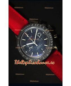 Omega Speedmaster Dark Side of the Moon Reloj Replica Suizo Escala 1:1
