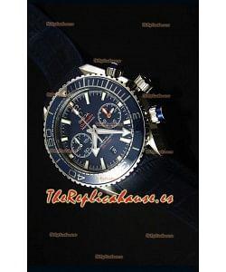 Omega Planet Ocean 600M Reloj Replica Suizo Cronógrafo Escala 1:1