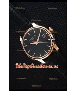 Patek Philippe #Ref 5227 Reloj Replica Suizo a Espejo 1:1 en Oro Amarillo Dial Negro