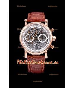 Patek Philippe Complications Skeleton Reloj Cronógrafo en Oro Rosado