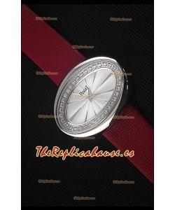 Piaget Limelight Magic Hour Reloj de Cuarzo Suizo Caja en Acero con Correa Roja