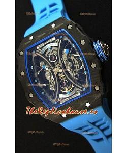 Richard Mille RM53-01 Pablo Mac Donough Caja de Carbón Reloj Réplica Suizo