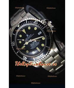 Rolex Sea Dweller Submariner 2000 Estilo Vintage Reloj con Movimiento Japonés
