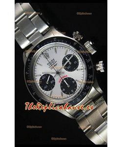 Rolex Daytona Vintage 6263 para la Edición CARTIER Reloj Replica Suizo Bisel Negro