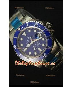 Rolex Submariner 116610 Blue Ceramic - Reloj Replica Suizo La mejor y última Edición de 2017