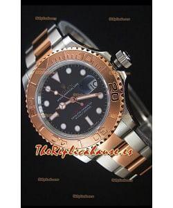 Rolex Yacht-Master 40 Everose Gold Reloj Replica Suiza 1:1 con Movimiento 3135