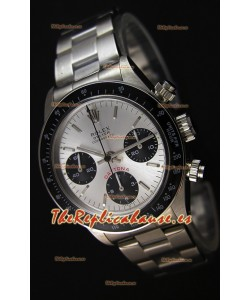 Rolex Daytona  6263 Floating Big Red Reloj Réplica Suizo- Reloj de Acero 904L