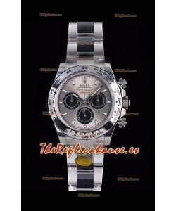 Rolex Daytona 116519 Reloj de Acero 904L a espejo 1:1 - Oro Blanco Movimiento Original Cal.4130