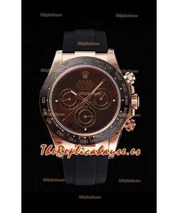 Rolex Daytona 116515LN Movimiento Original Cal.4130 - Reloj de Acero 904L a Espejo 1:1 Everose Cerachrom