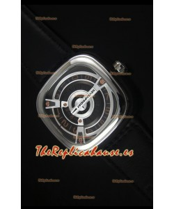 SevenFriday M2-2 Movimiento Miyota 8215 Reloj de Acero Inoxidable