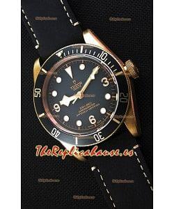 Tudor Black Bay Bronze Divers Reloj Réplica Suizo a Espejo 1:1 43MM