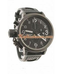 U-Boat Flightdeck Reloj Suizo de imitación