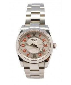 Rolex Oyester Perpetual Air Keng Reloj Suizo - 34MM con Esfera Metálica