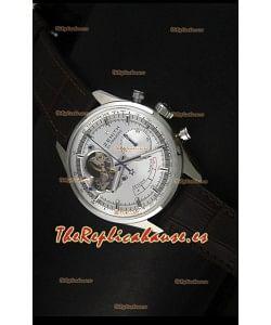 Zenith El Primero Chronomaster Handwind, Reserva de Energía 42MM Reloj Replica Dial de Plata